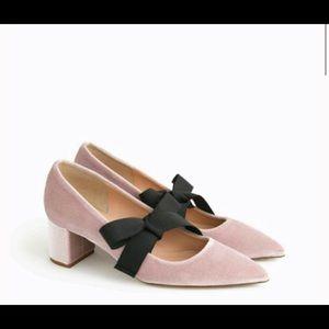 Shoes - Velvet pumps